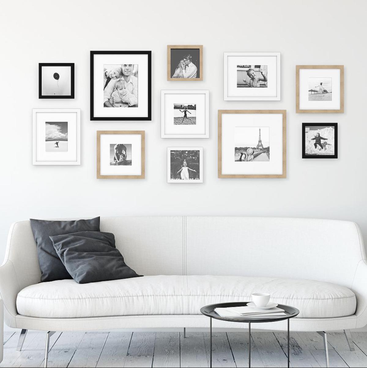 Australia Gallery Wall Styling Art design Framefox frames