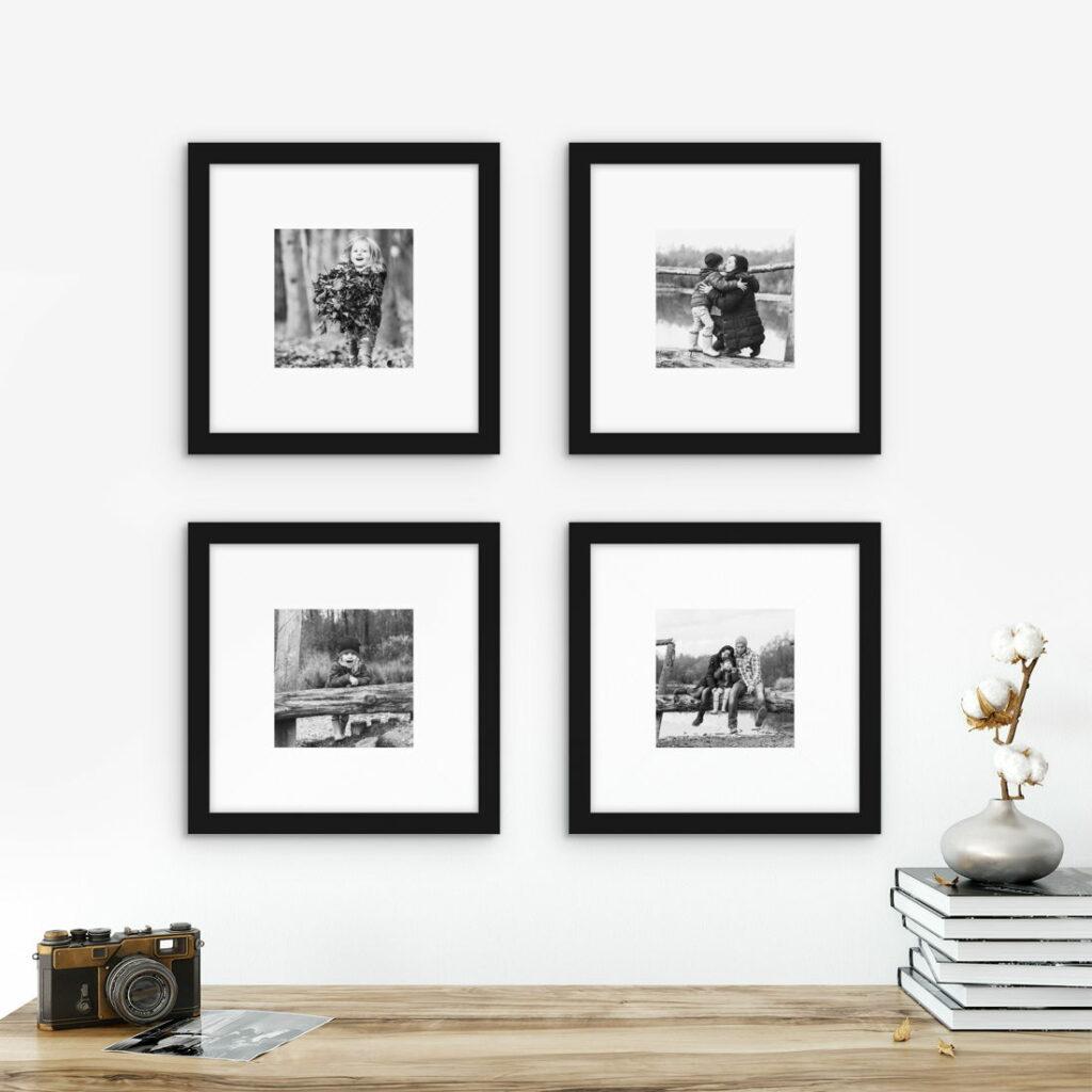 Marie Kondo Walls KonMari Method frame wall wart gallery wall