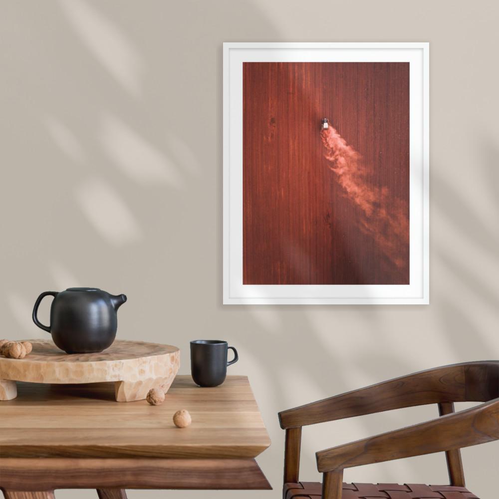 framefox resene art wall art Australia outback framed frame print