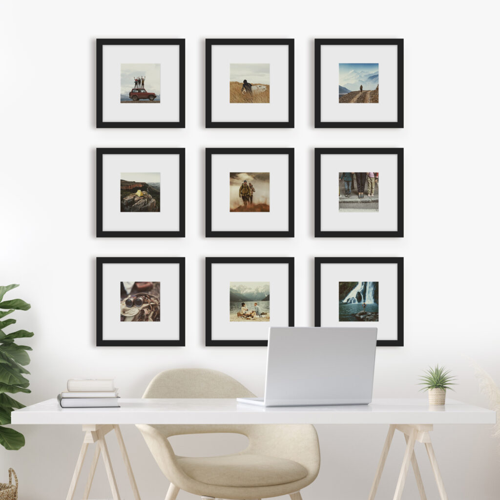 Phone Photo Print Frame Picture Frames