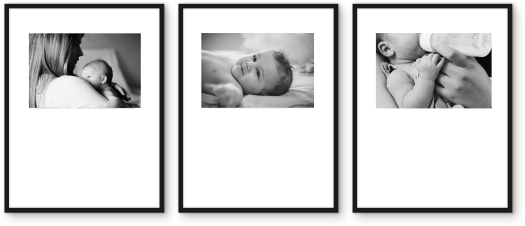 Nursery Picture wall gallery photo frames
