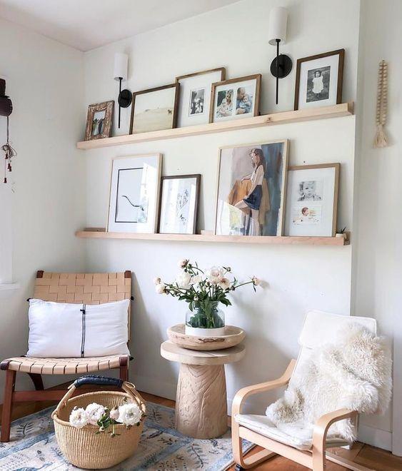 picture frame ledge