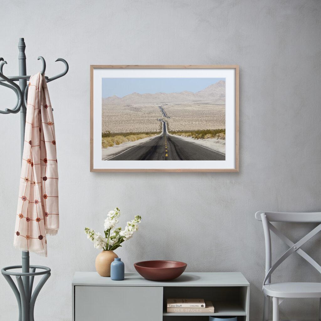 framing print trend