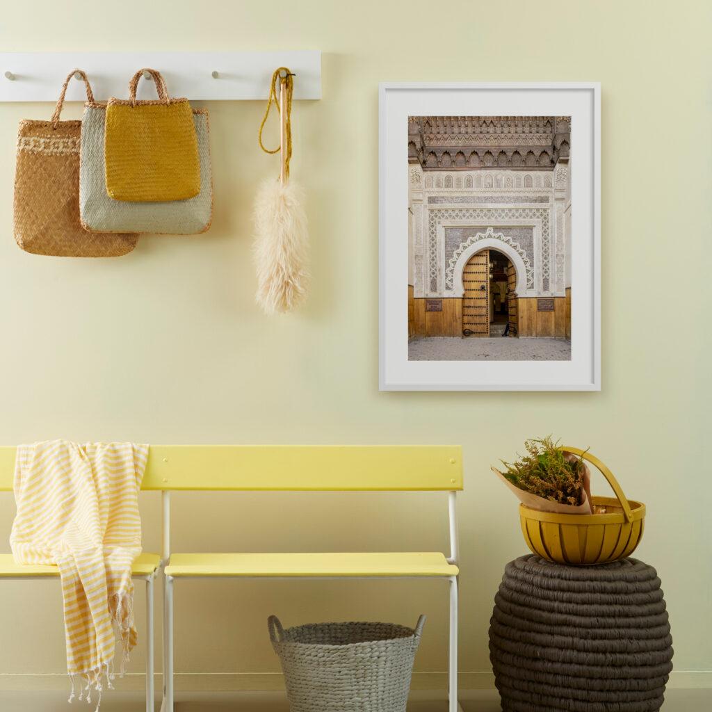 morocco framing print trend