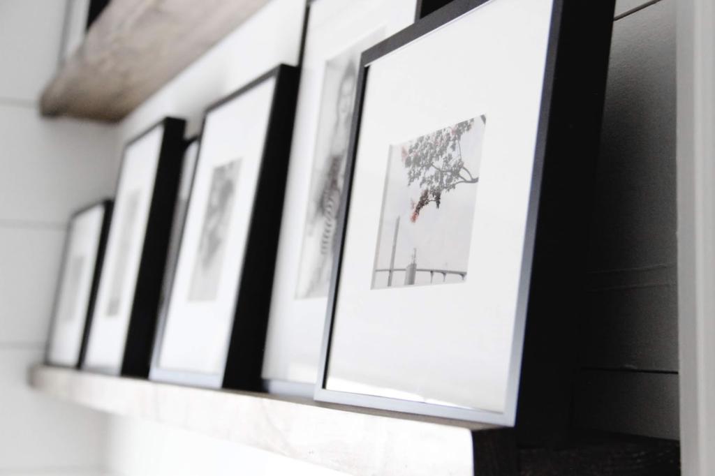 Picture ledge style framing home decor framefox blog