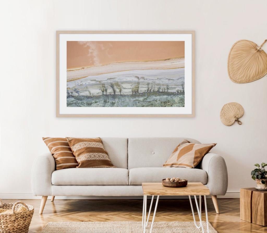 landscape framing print trends
