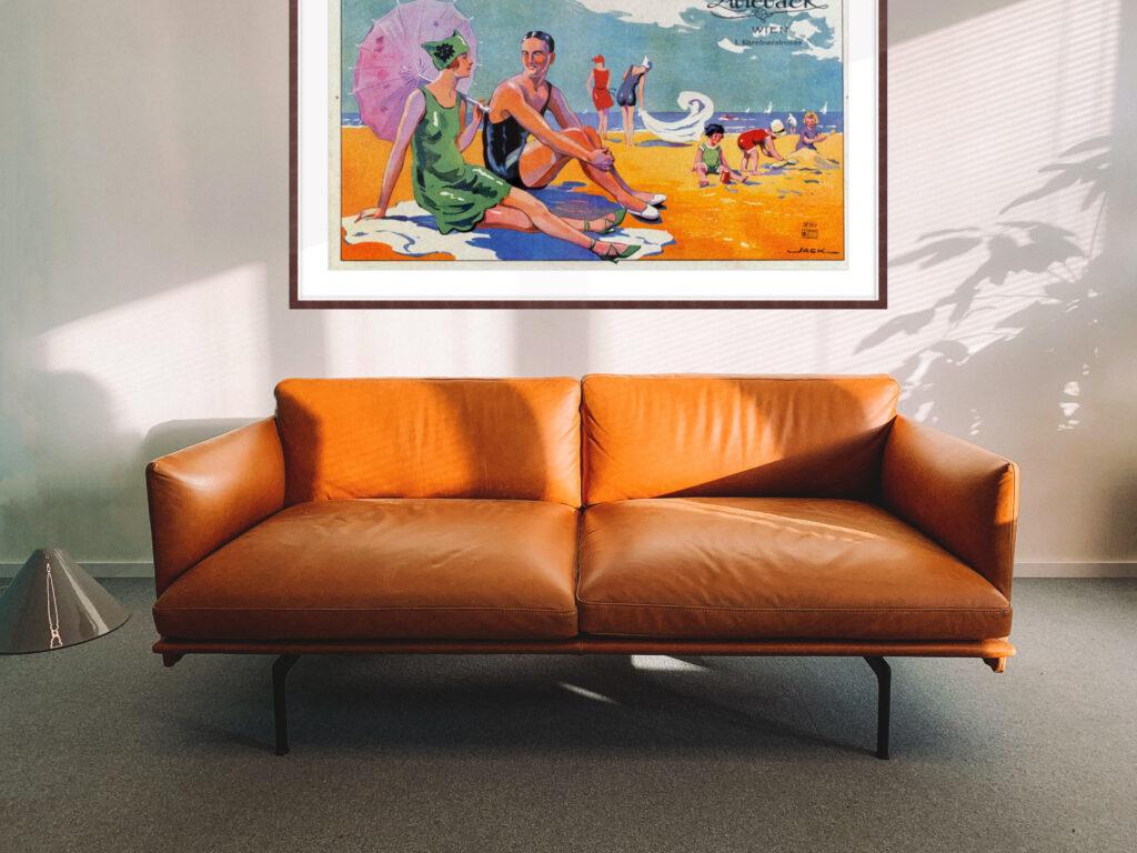 Custom Large Frame Print Framing