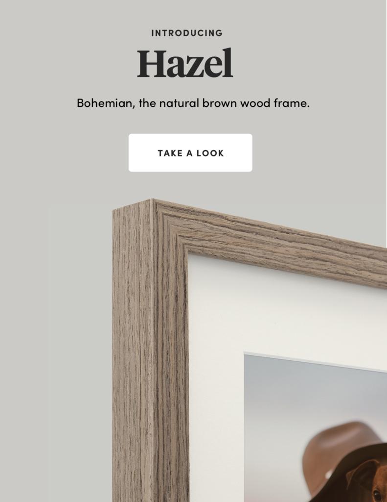 Raw-timber wood new frame frames